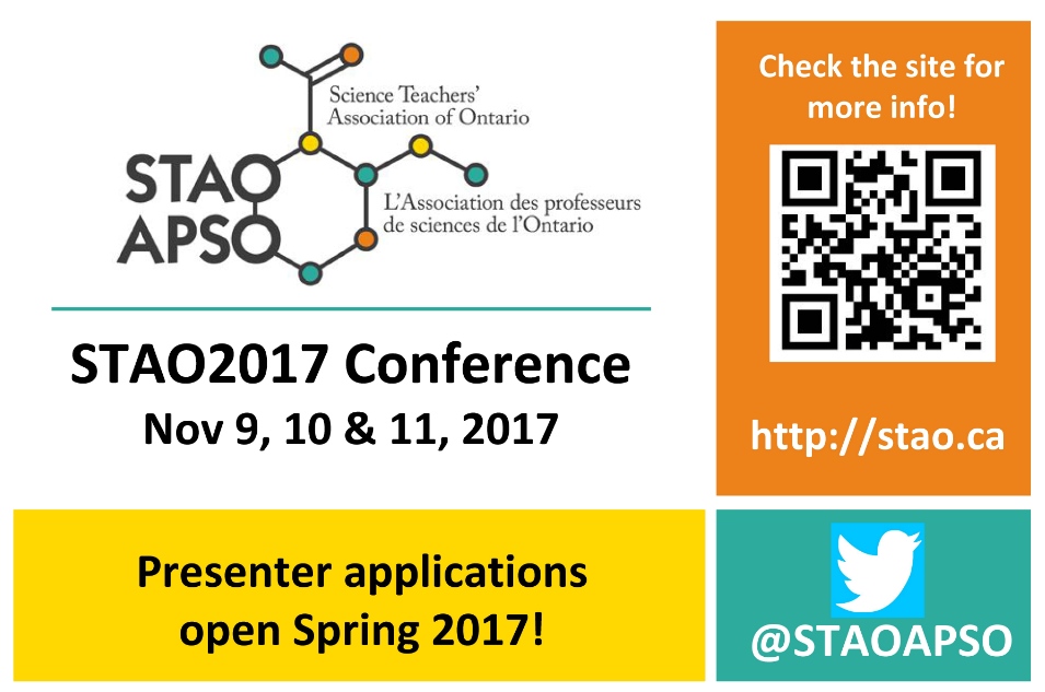 Call for Presenters STAO Conference 2017