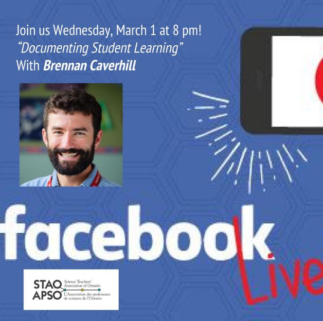 Documenting student learning – STAO Facebook Live!