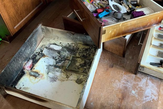 Battery fires: The potential danger hiding in your kitchen junk drawer at Christmas and year-round