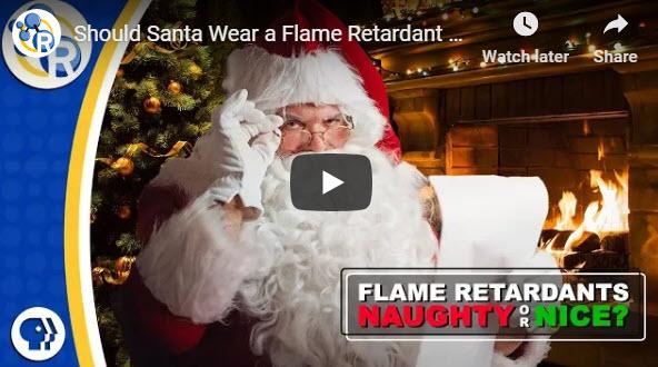Should Santa Wear a Flame Retardant Suit?