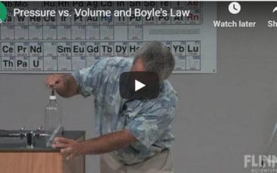 Pressure vs. Volume and Boyle's Law Experiment – by Flinn Scientific